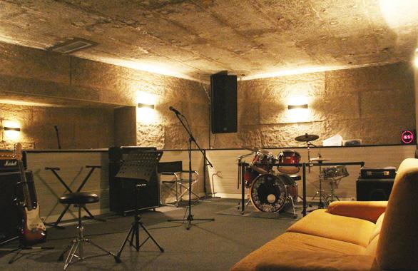 Salle 1 des studios de musique pour l'école Musique Live à sainte genevieve des bois